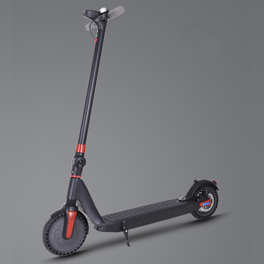 8.5 inch light weight city commuter folding e scooter