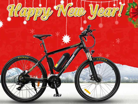 New Year Hybrid Electronic Bike Promotion