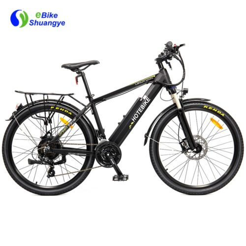 Electric assist mountain bike with hydraulic disc brake A6AH26