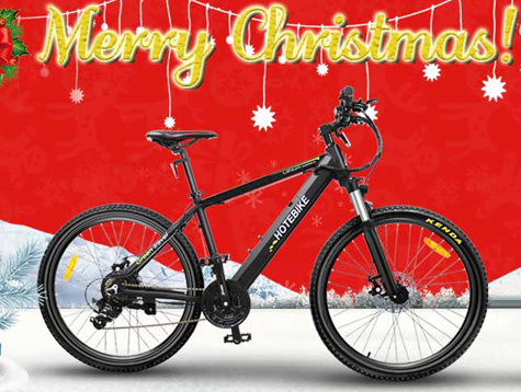 Electric mountain bikes Promotion for Christmas