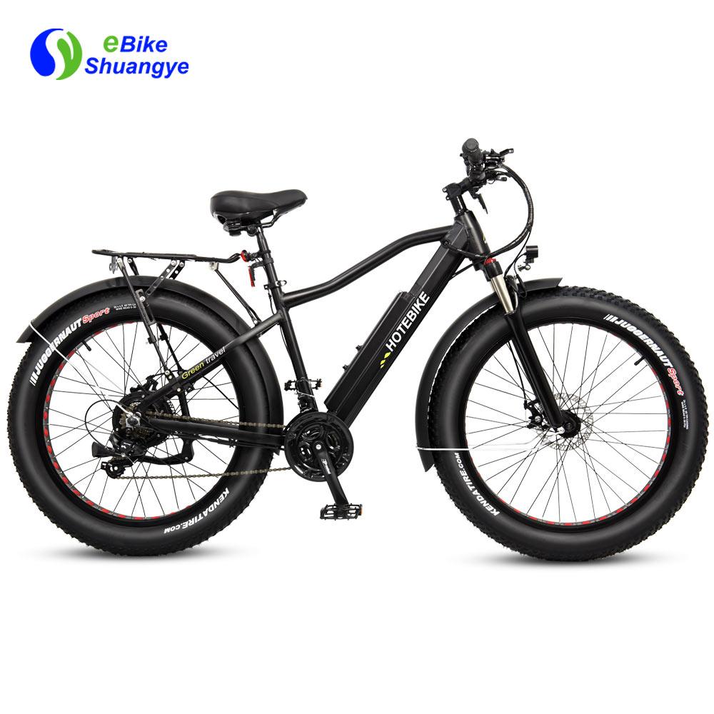 New design high capacity motorized fat tire bike A6AH26F