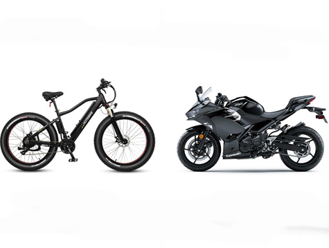 Comparison:Electric commuter bike VS Motorcycle