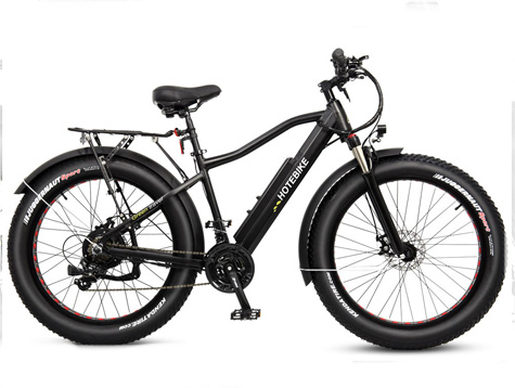 Another specification for fat tire motorized bike