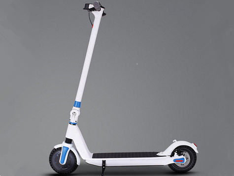 8.5-inch long range electric scooter designed for city streets
