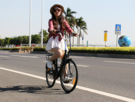Bring you know women's electric Bike