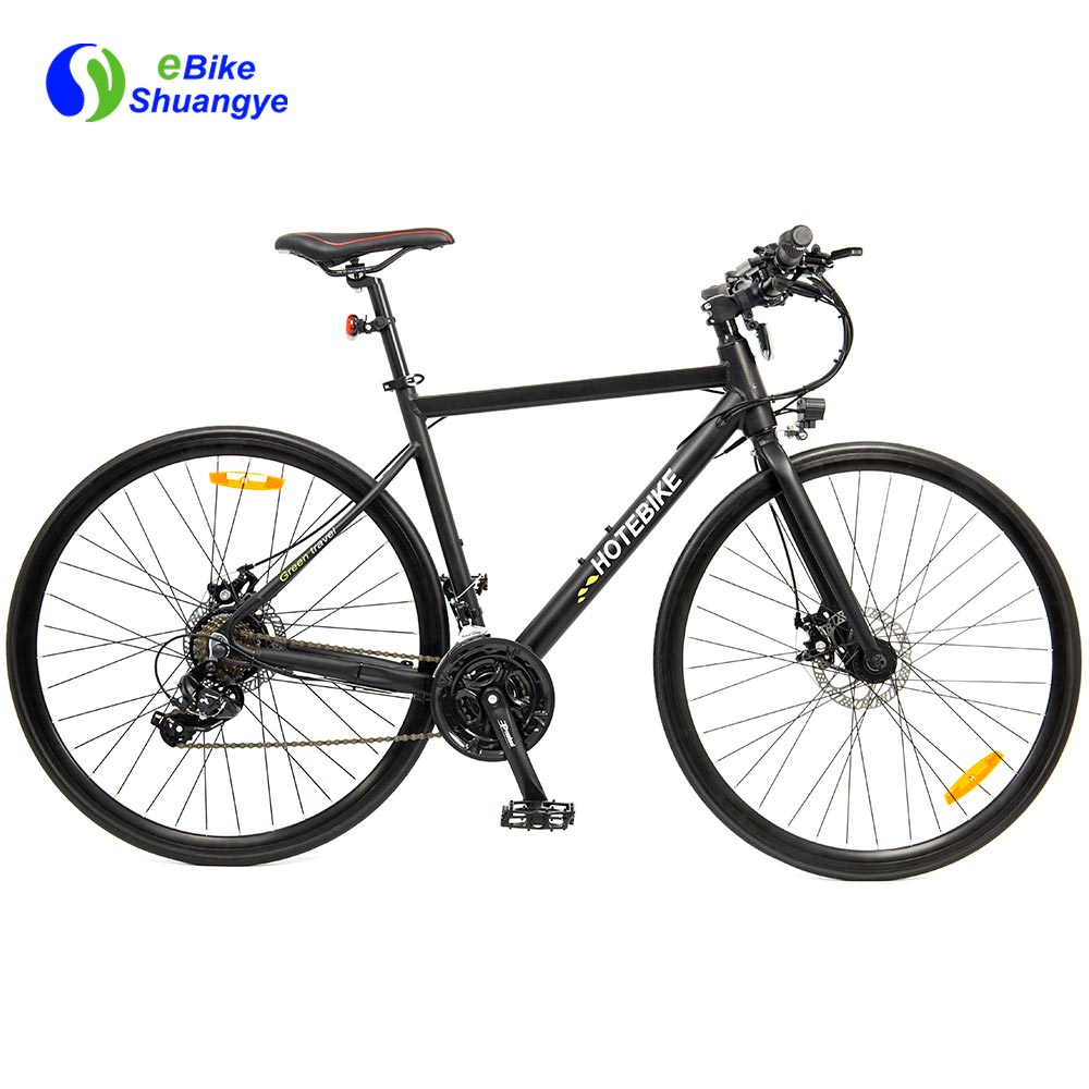 700C solid rubber tire electric road bikes A6-R