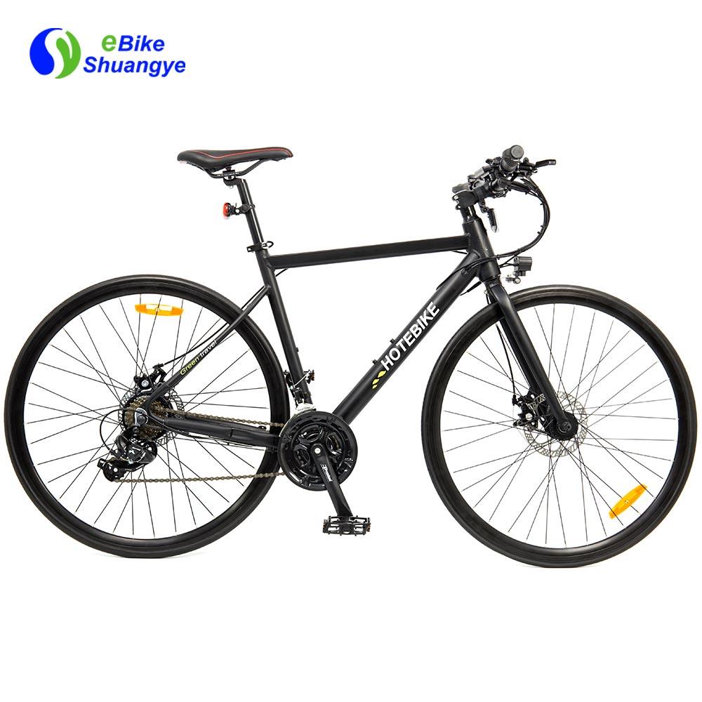 700C 솔리드 고무 타이어 전기 도로 자전거 A6-R
