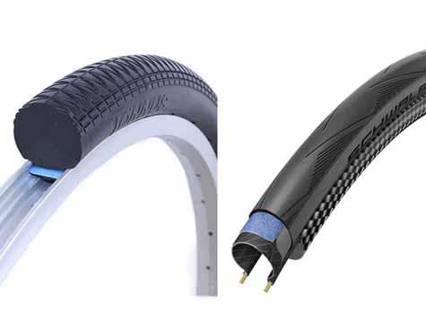 Electronic bikesolid tires VS pneumatictires