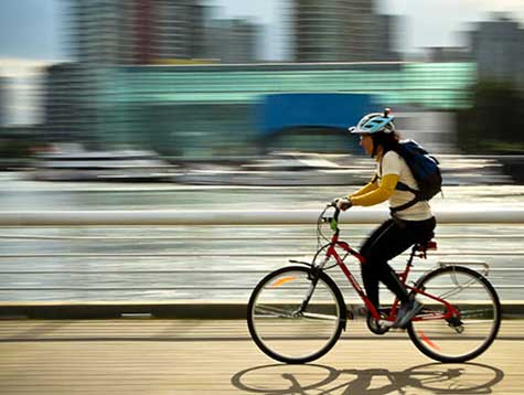 How to use an electric powered bicycleto keep fit?