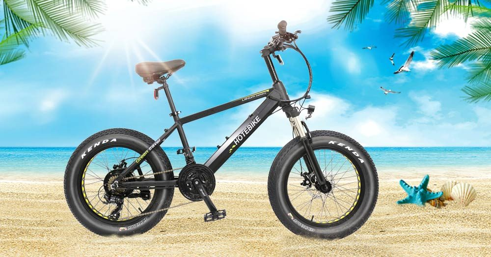 electric powered bicycle