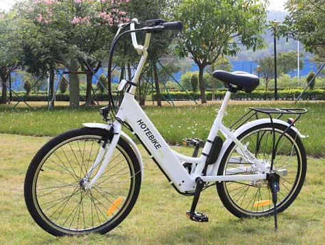 Why is electric powered bicyclemore and more popular?
