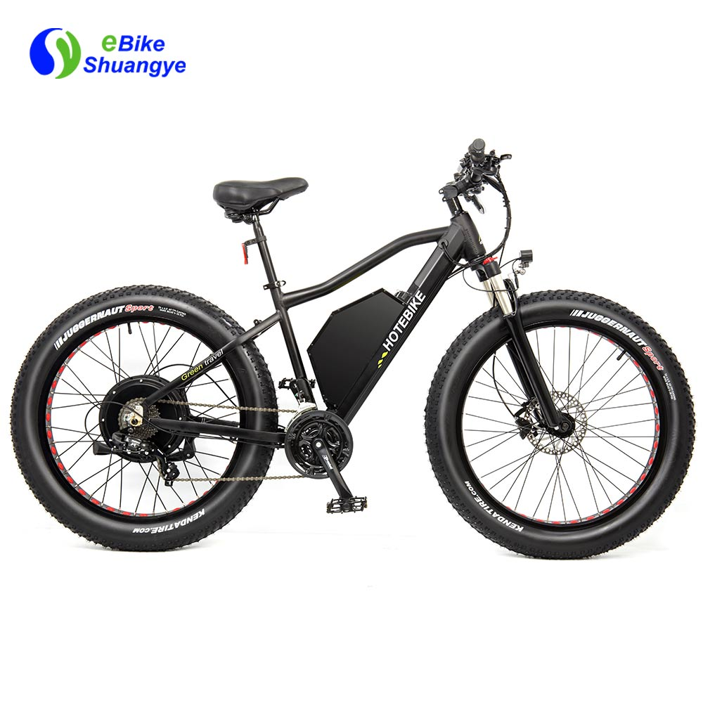 26 Inch Powerful Fat Ebike 60V 2000W A7AT26