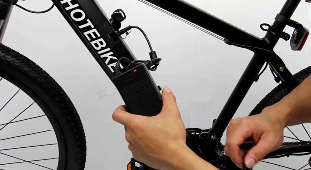 electric bike's battery