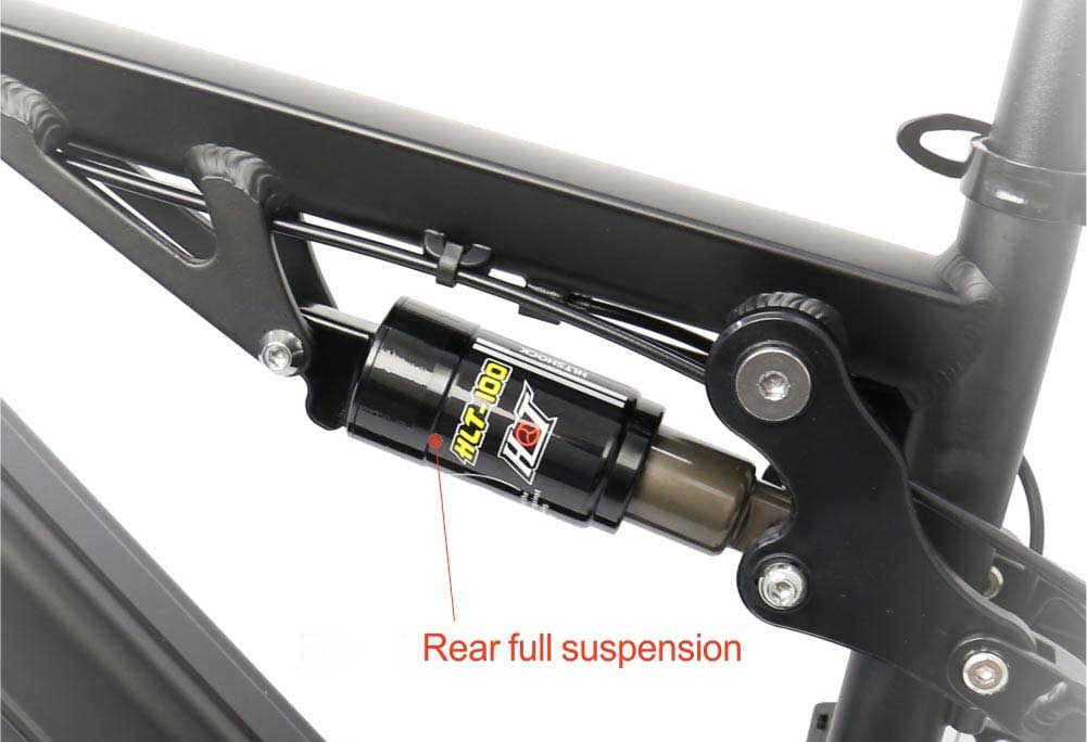 full suspension mountain ebike