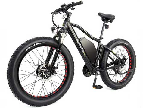 500w dual motor fat tire electric bicycles