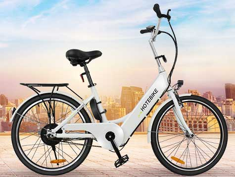Economic city electric bike for women