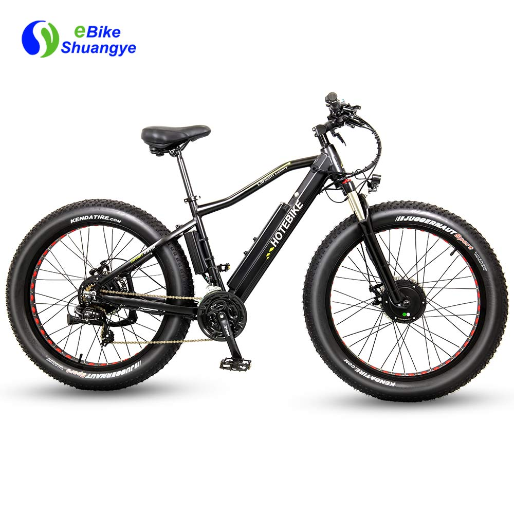 Dual Motor fat electric bike 26 inch A6AH26F