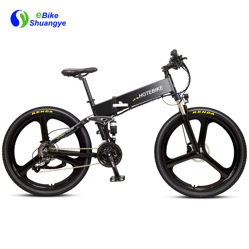 48V folding mountain full suspension ebike G4M