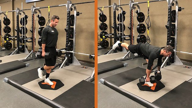Move 2: Weighted Single-Leg Deadlift