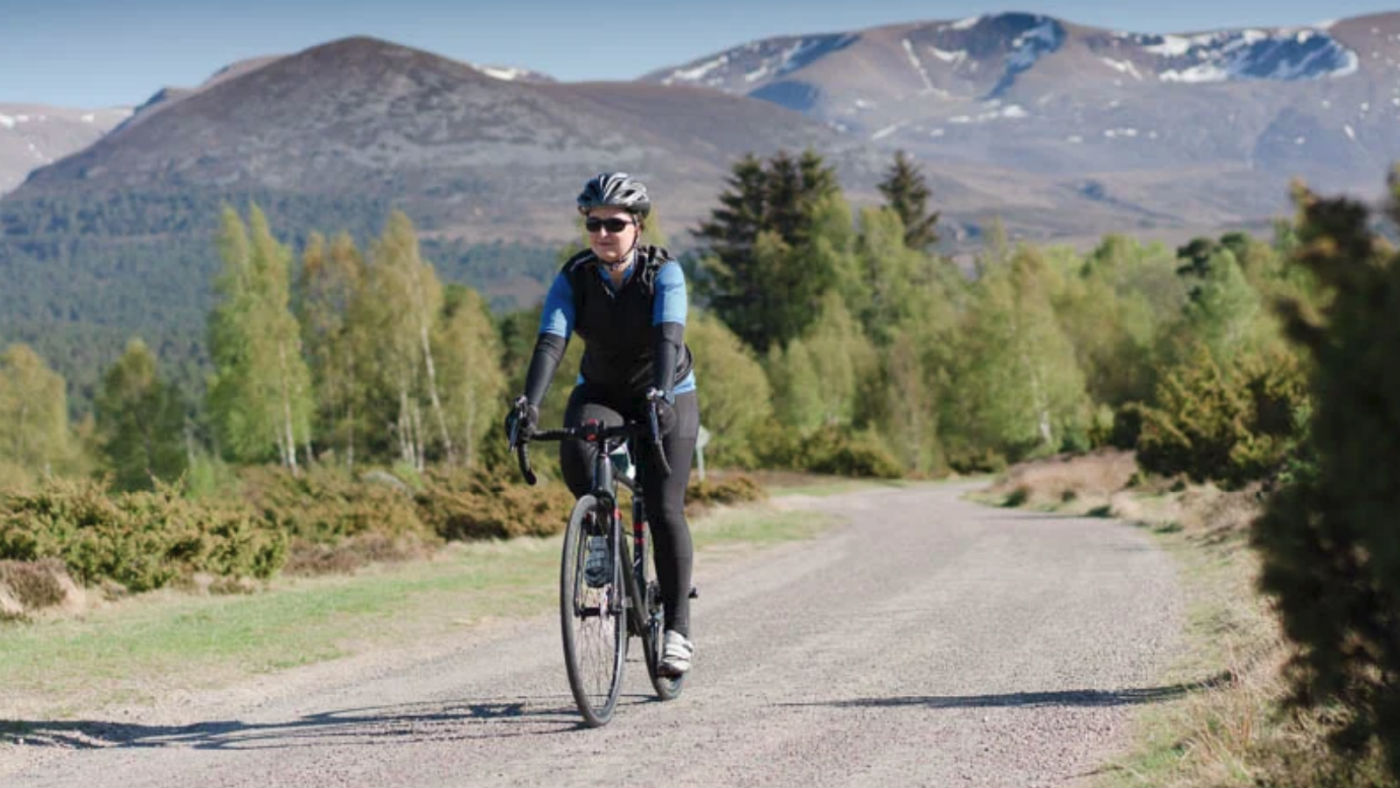 Wilderness Scotland Cairngorms National Park cycling tour