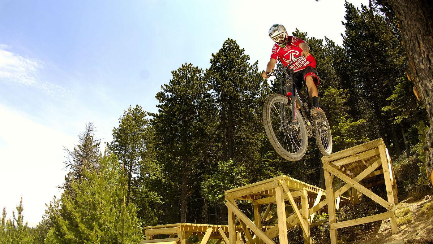 Vallnord Bike Park in Andorra