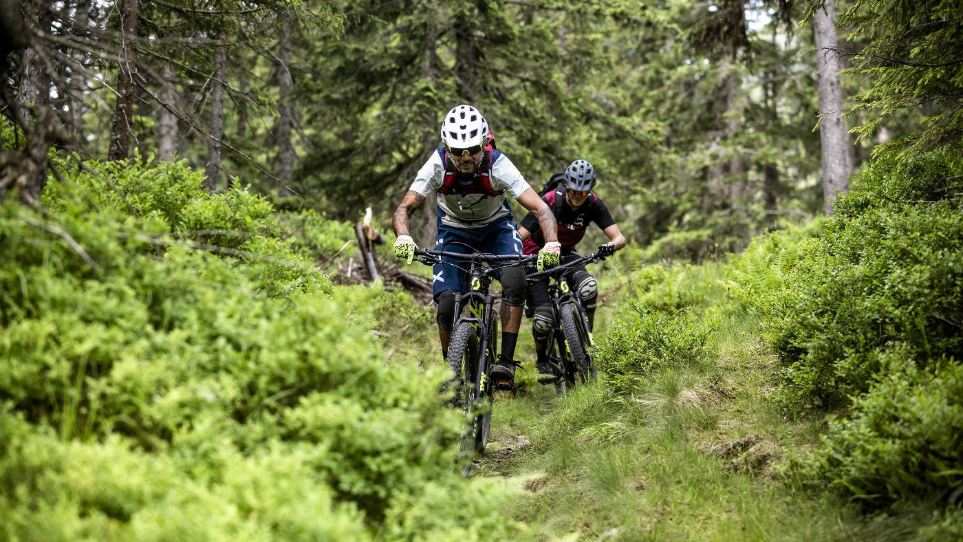 Mountain biking in Saalfelden Leogang, Austria
