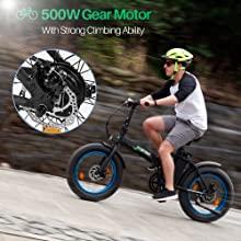 500W Gear Motor