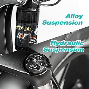 Alloy & Hydraulic Suspension