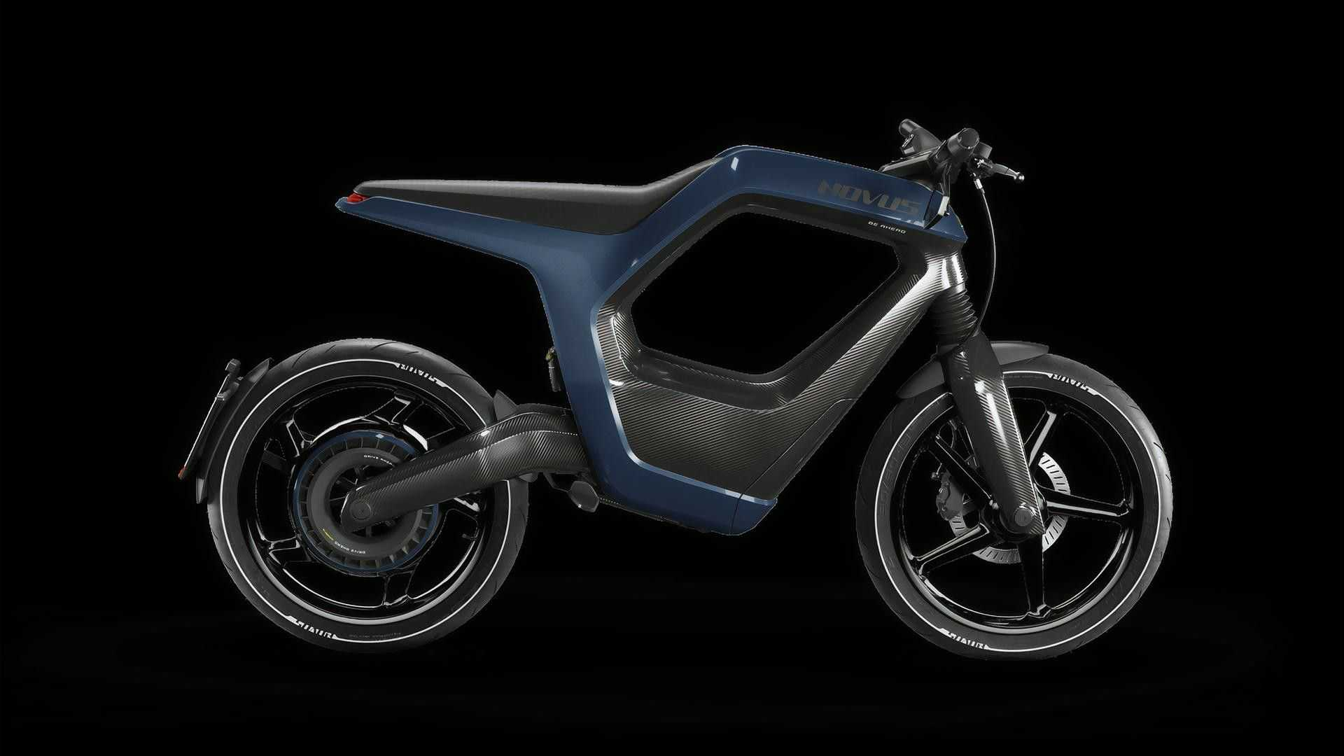 Novus Electric Bike Blue
