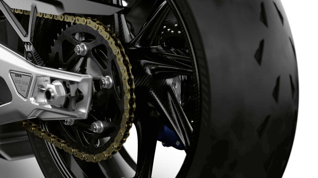 BMW M 1000 RR, Detail, Rear Wheel
