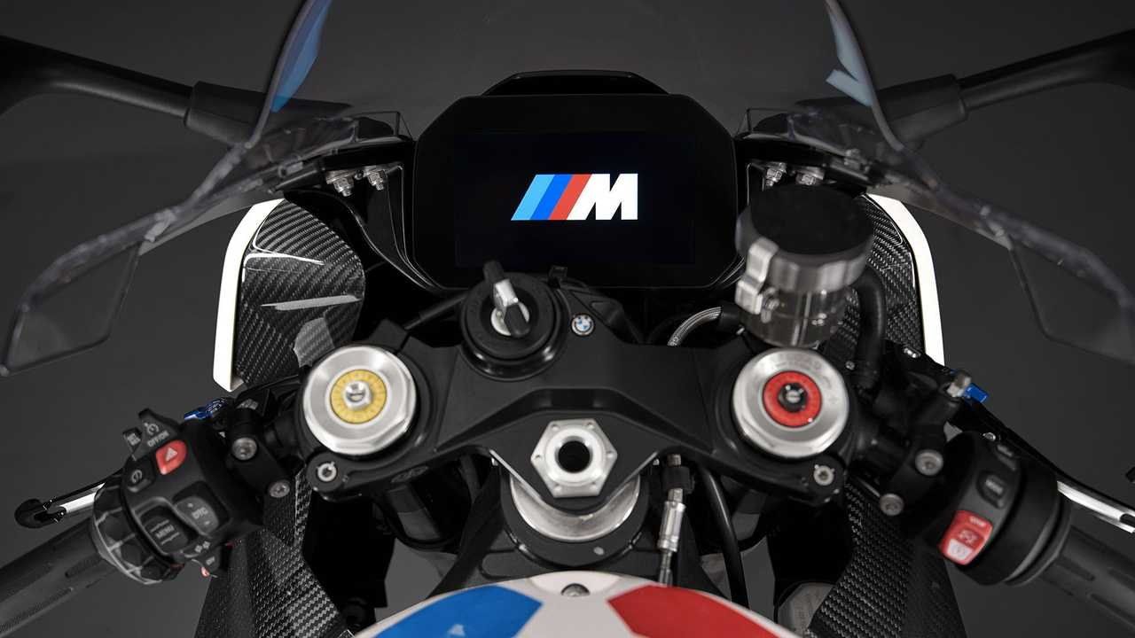 BMW M 1000 RR, Dashboard