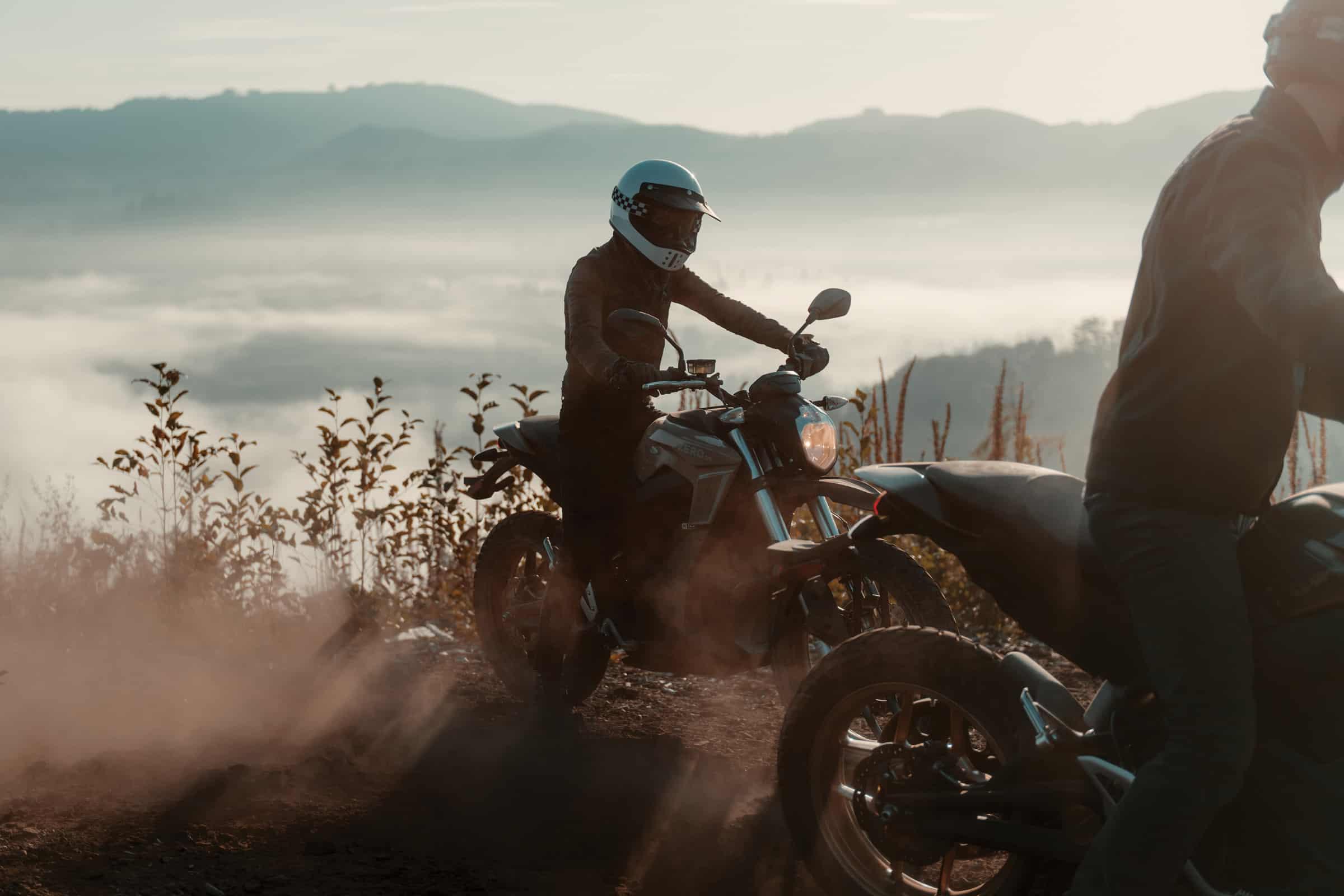 Zero Motorcycle Outdoors