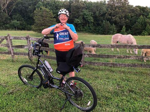 jon treffert rides great cycle challenge of day6 patriot e bike