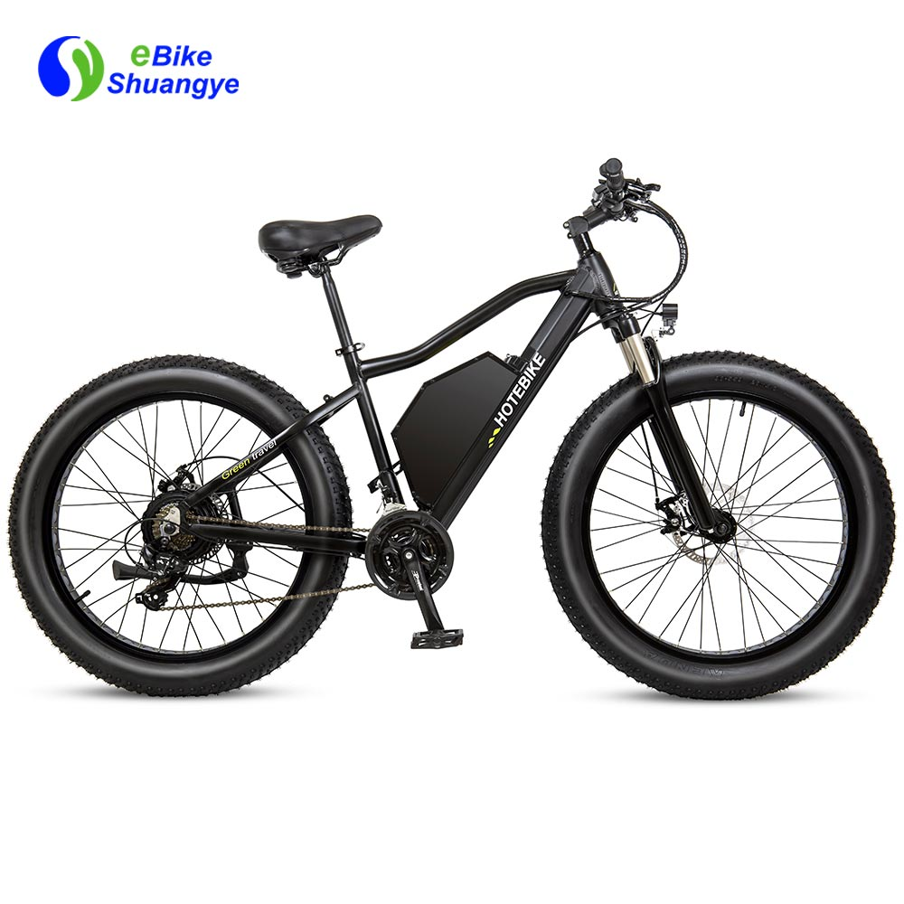 48V 1000W electric fat tire mountain bike A7AT26