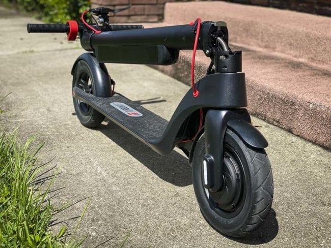 folded X7 Pro scooter