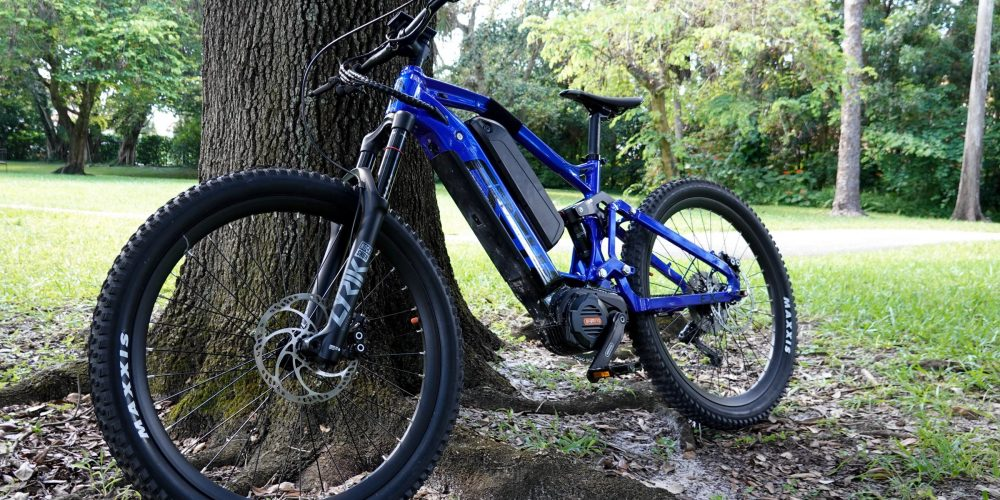 FREY EX Pro review: A 1.5 kW full-suspension electric mountain bike on steroids