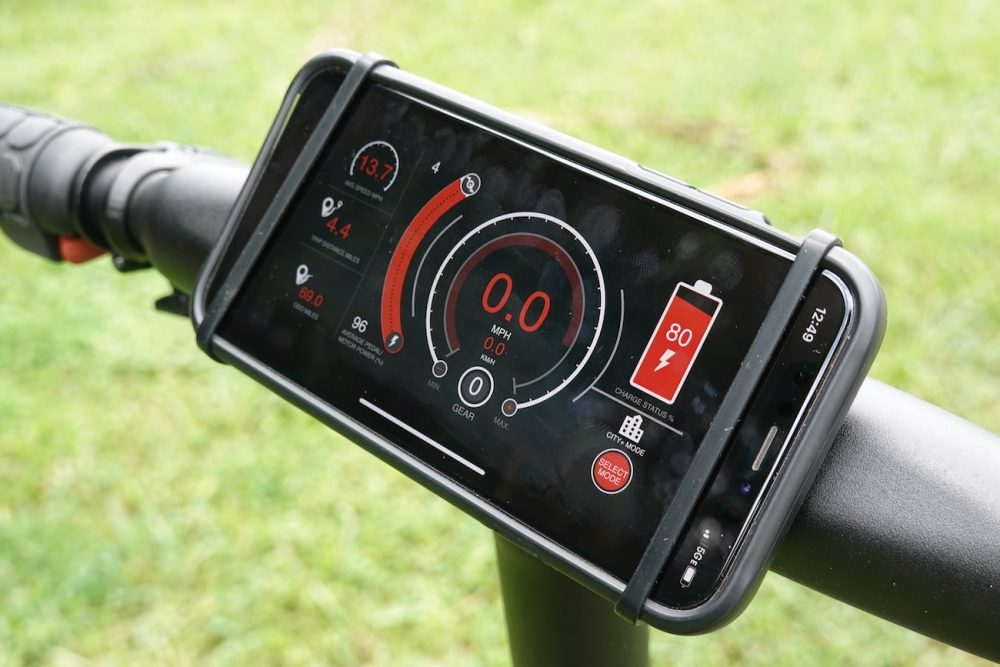 2020 gocycle gx display