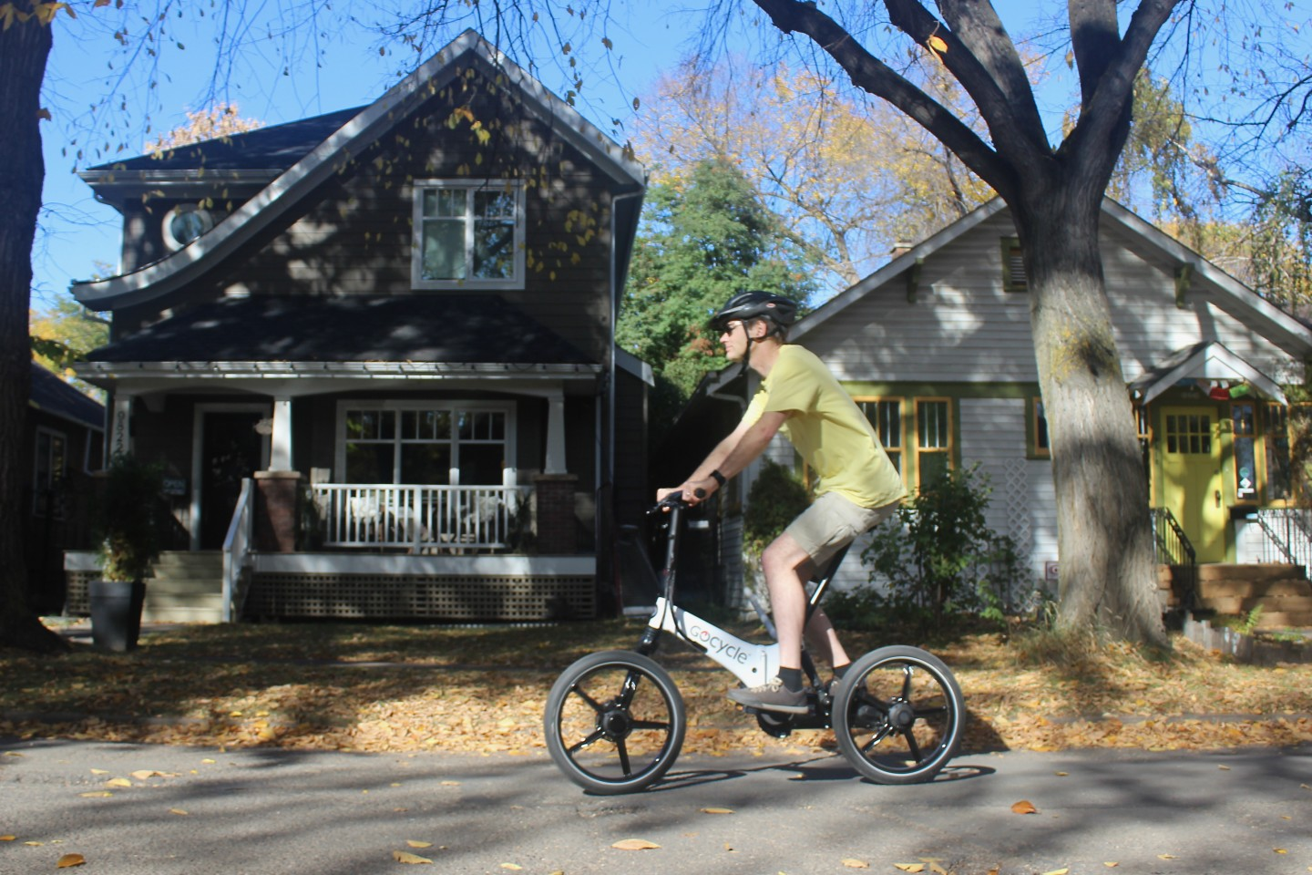 The GoCycle GX accommodates riders weighing up to 100 kg (220 lb)