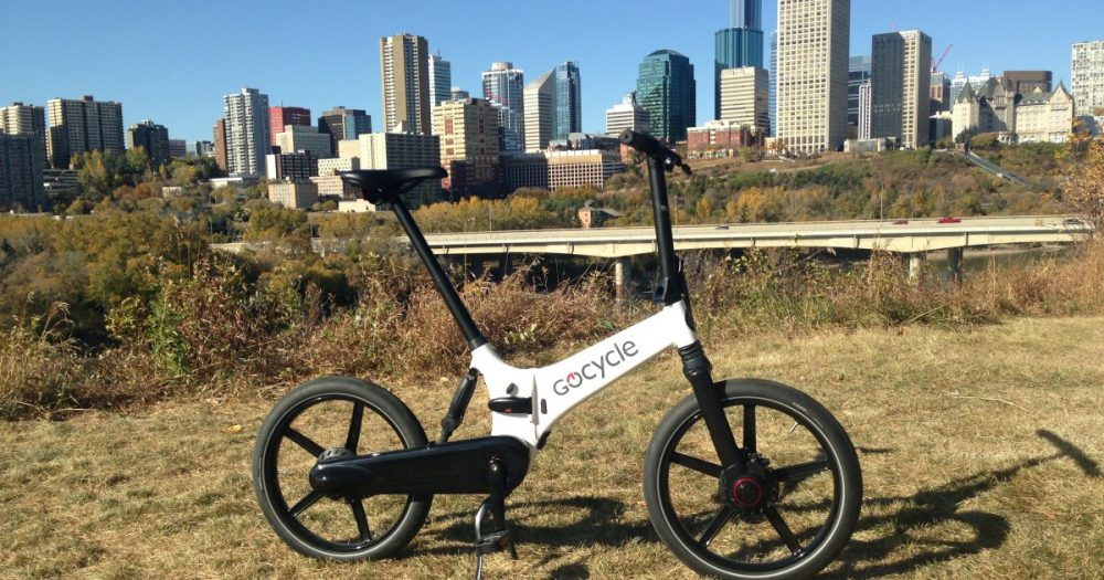 Awesome GoCycle GX urban folding ebike