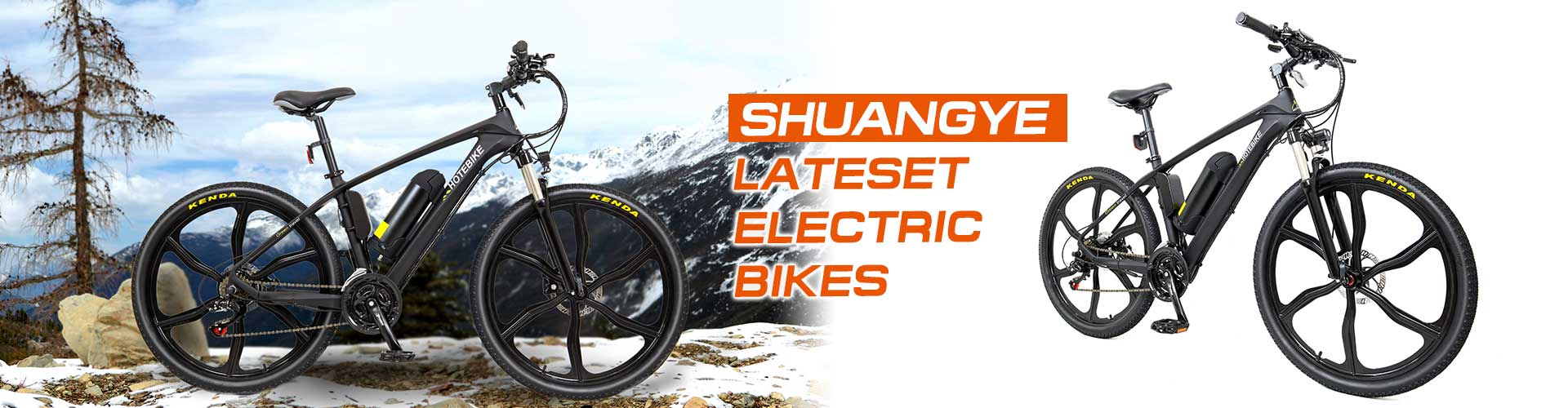 Shuangye latest electric bikes launched
