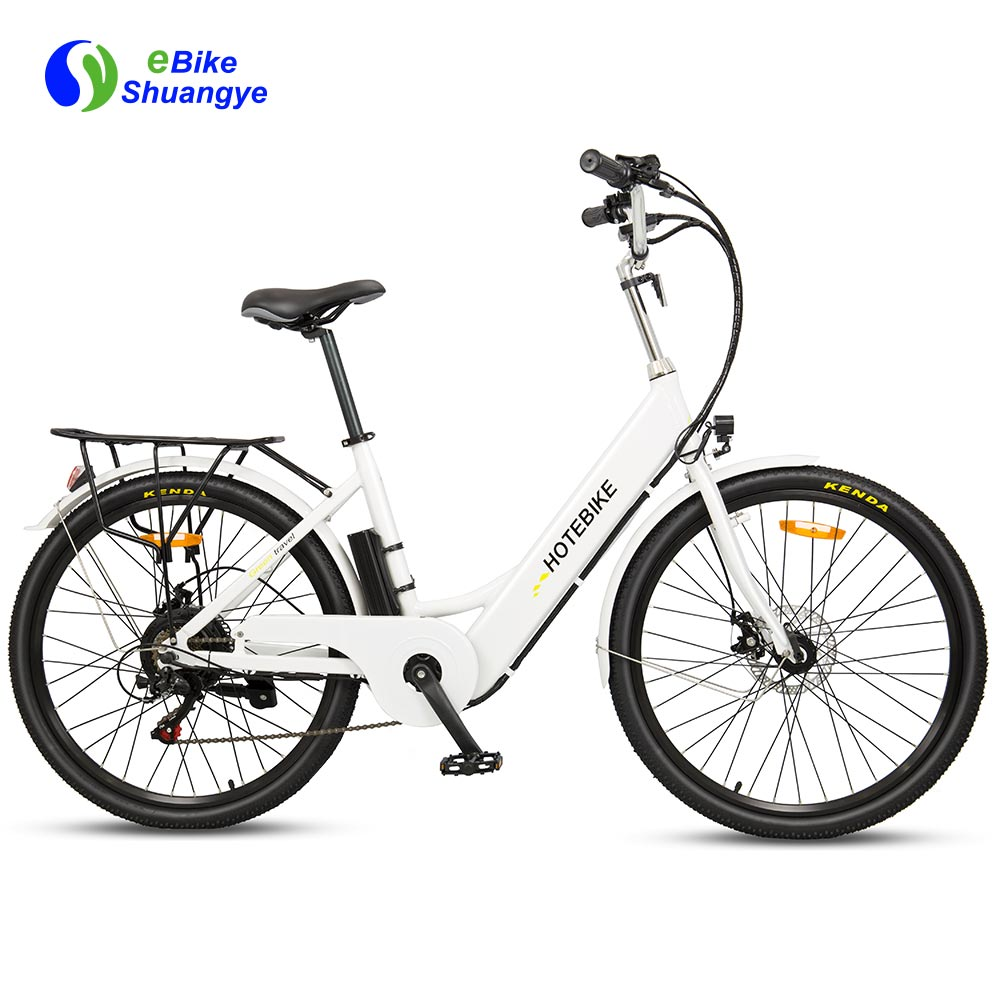 Shuangye new electric walking bike motor 48V 500W  ebike battery 48V 10AH A5AH26