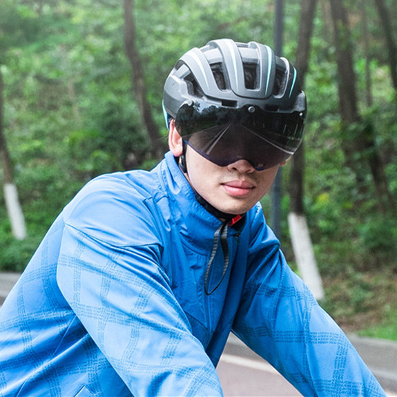 Why do people need to wear helmets on the road?