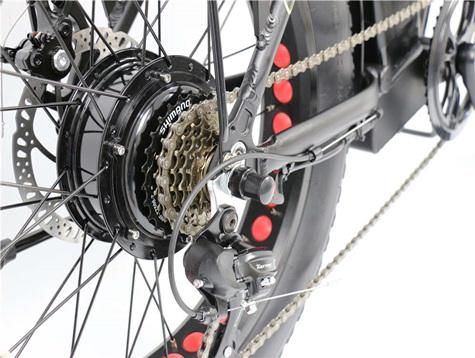 साइकल प्रसारण प्रणाली को गियर गति अनुपात