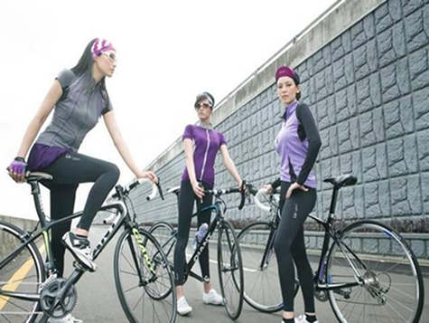 Riding a bike to lose weight