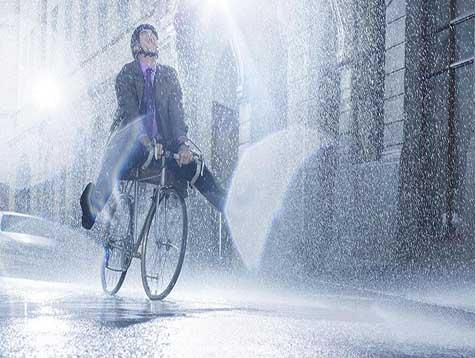 8 reasons to ride a bike in the rain