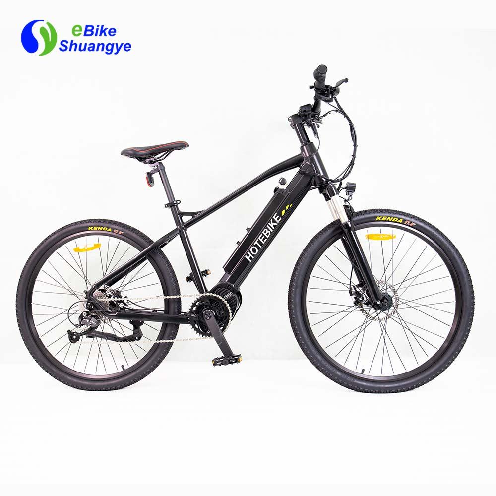 buy mountainbike 36V 350W bafang mid drive ebike A6AH26MD