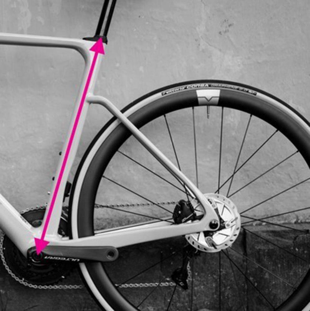 measure bicycle frames