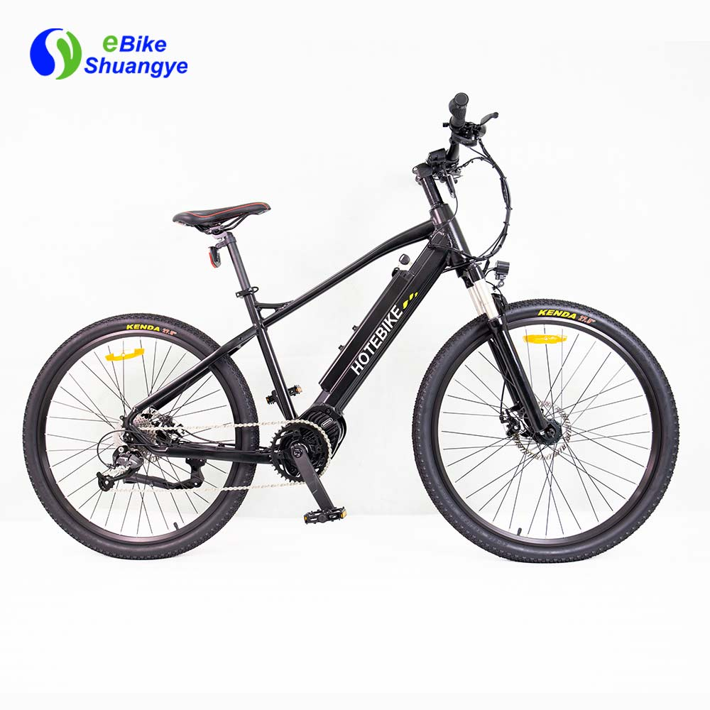 Mid drive motor electric bike 36V 350W 500W A6AH26MD